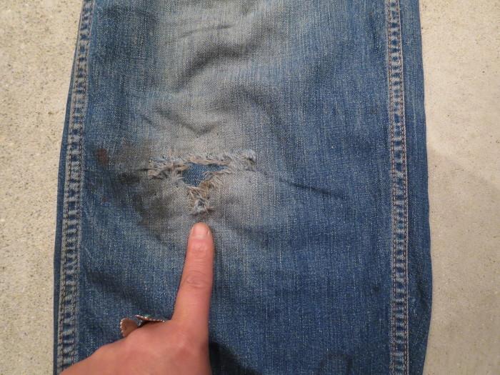 40\'s 50\'s Unknown Denim Work Pants_e0187362_13415029.jpg
