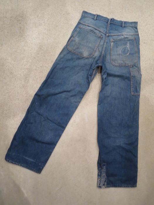 40\'s 50\'s Unknown Denim Work Pants_e0187362_13440675.jpg