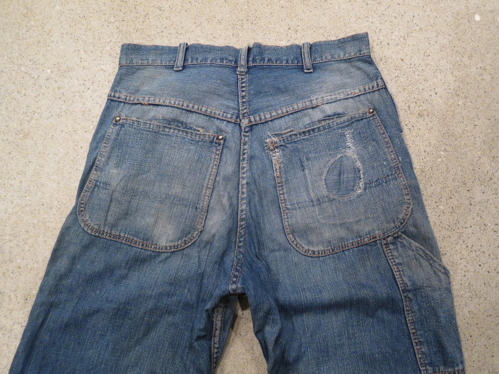 40\'s 50\'s Unknown Denim Work Pants_e0187362_13442412.jpg
