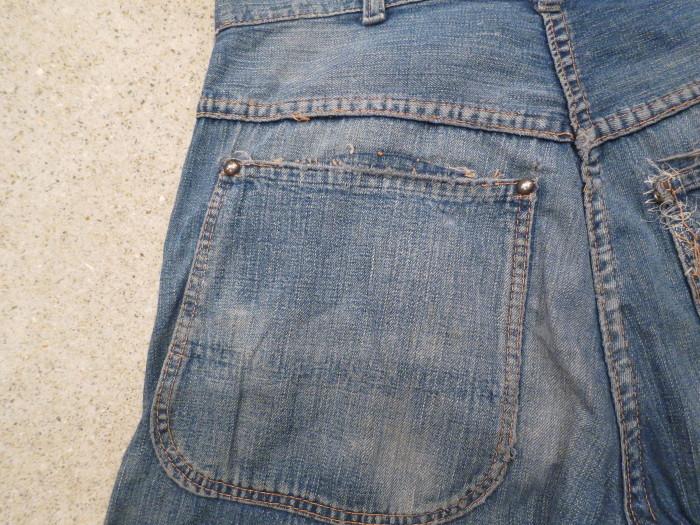 40\'s 50\'s Unknown Denim Work Pants_e0187362_13450096.jpg
