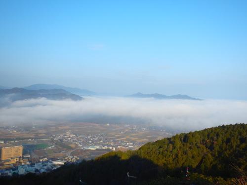 雲海からの卵かけご飯ライド_a0345079_15031502.jpg
