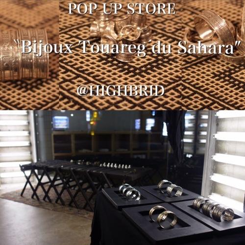 "\""Touareg silver\"" pop up store in HIGHBRED_b0156682_21001885.jpg"