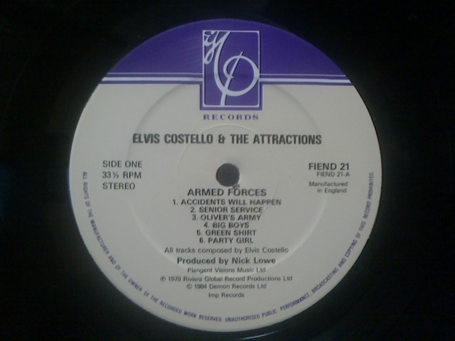 Armed Forces / Elvis Costello & The Attractions_c0104445_16543850.jpg