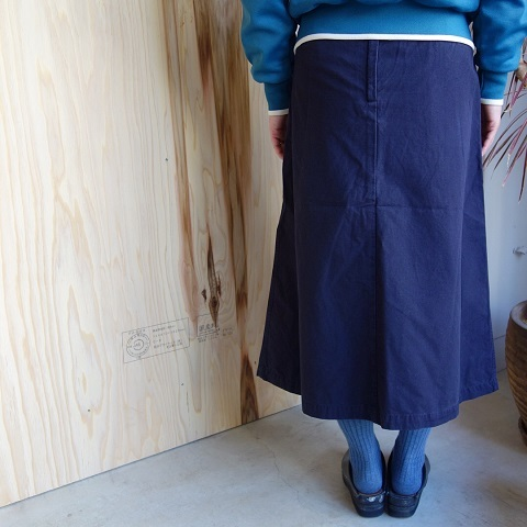 THE NORTH FACE PURPLE LABEL : Cotton Ripstop Field Skirt_a0234452_17543618.jpg