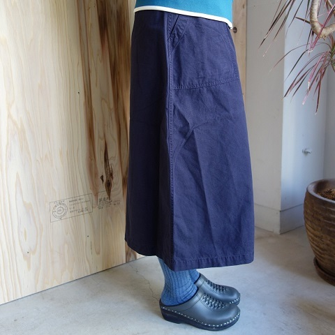 THE NORTH FACE PURPLE LABEL : Cotton Ripstop Field Skirt_a0234452_17550129.jpg