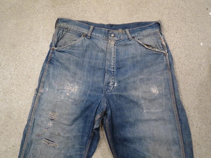 50\'s Unknown Denim Work Pants + 1月の営業は、今日まで !!_e0187362_10502989.jpg