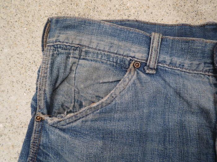 50\'s Unknown Denim Work Pants + 1月の営業は、今日まで !!_e0187362_10511744.jpg