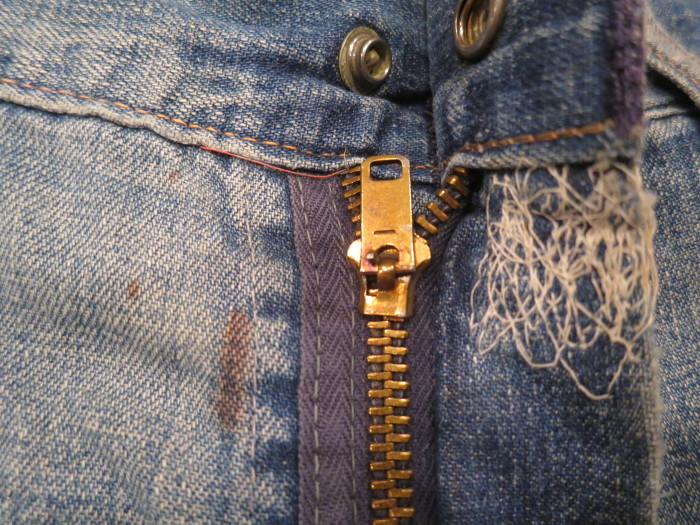 50\'s Unknown Denim Work Pants + 1月の営業は、今日まで !!_e0187362_11071219.jpg
