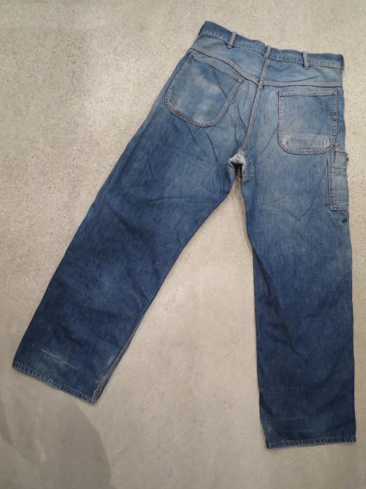 50\'s Unknown Denim Work Pants + 1月の営業は、今日まで !!_e0187362_11214135.jpg