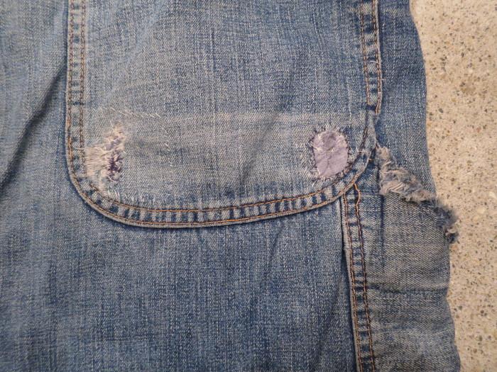 50\'s Unknown Denim Work Pants + 1月の営業は、今日まで !!_e0187362_11224119.jpg