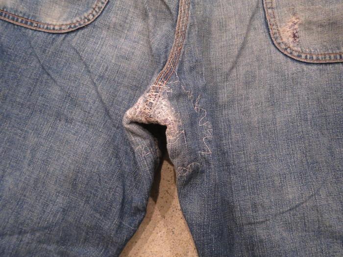 50\'s Unknown Denim Work Pants + 1月の営業は、今日まで !!_e0187362_11230001.jpg