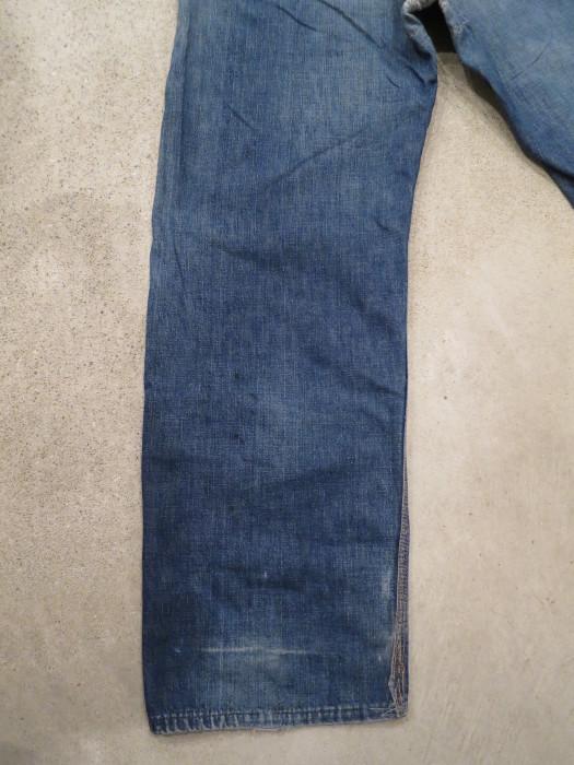 50\'s Unknown Denim Work Pants + 1月の営業は、今日まで !!_e0187362_11234560.jpg