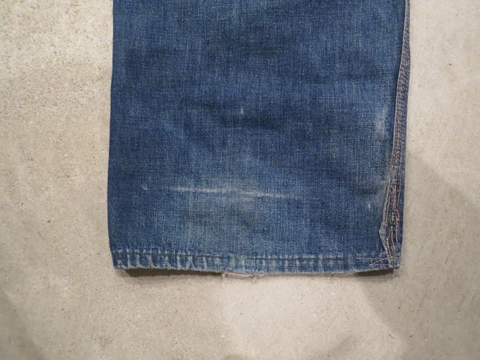 50\'s Unknown Denim Work Pants + 1月の営業は、今日まで !!_e0187362_11242225.jpg