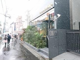 本日の東京のお天気→雪景色へ!_d0091909_17491613.jpg