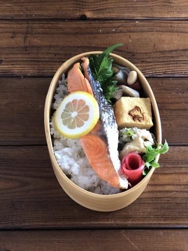 焼き鮭弁当_c0270834_08412358.jpeg