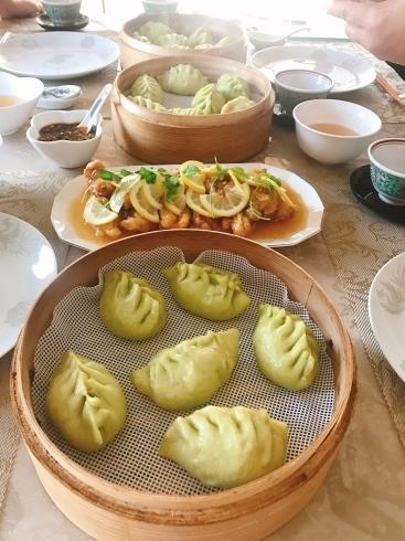 バラ饅頭、香港蝦シュウマイ、野菜饅頭など_a0175348_12505783.jpg