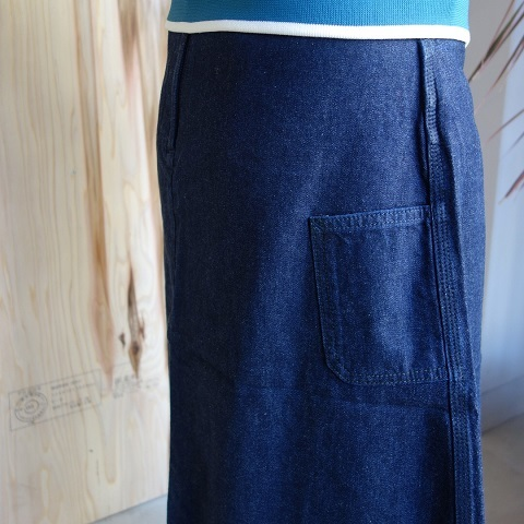 THE NORTH FACE PURPLE LABEL : Mountain Denim Skirt_a0234452_18330227.jpg