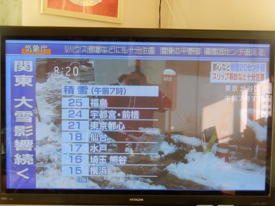 '18,1,23(火)関東地方は大雪でマヒしてたよ!_f0060461_08511223.jpg
