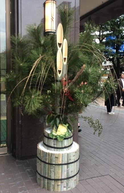 福岡の門松。_e0086881_21320531.jpg