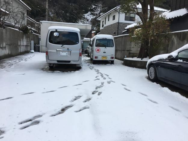 1月23日 雪だるま…_f0151886_16313981.jpg