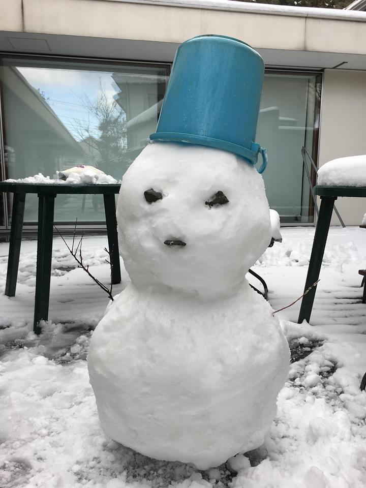 1月23日 雪だるま…_f0151886_16314444.jpg