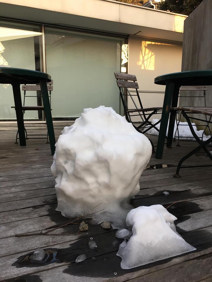 1月23日 雪だるま…_f0151886_16314879.jpg