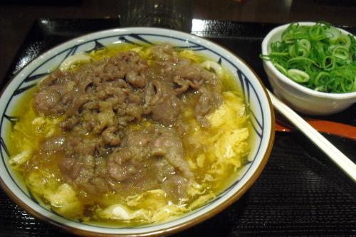 丸亀製麺 『肉玉あんかけうどん』_a0326295_21184035.jpg