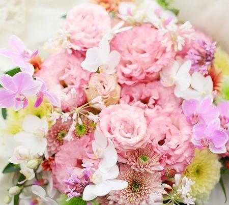 花のギフト お母様へのお誕生日お祝い ピンク系で 元花嫁様からのご注文_a0042928_11595823.jpg