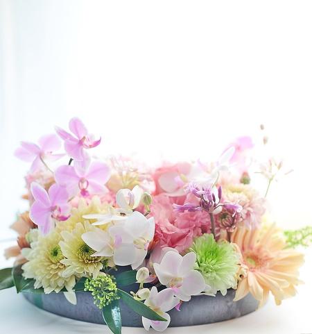 花のギフト お母様へのお誕生日お祝い ピンク系で 元花嫁様からのご注文_a0042928_120986.jpg