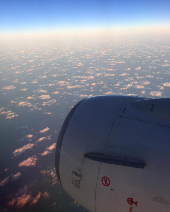 JAL658便 座席20K / iPhone 6_c0334533_18373720.jpg
