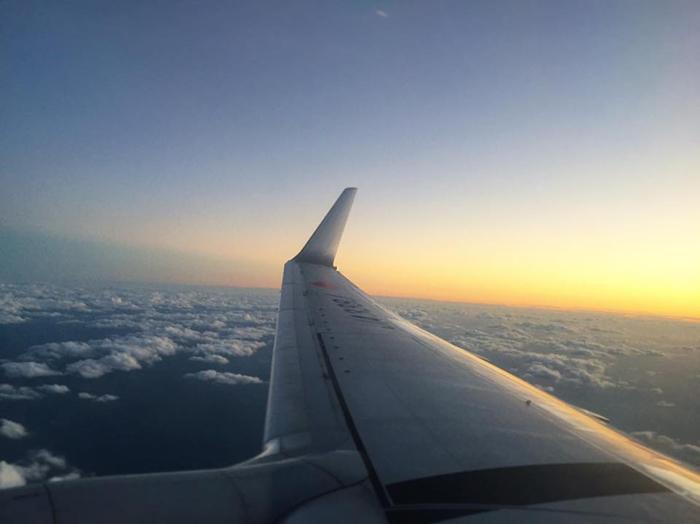 JAL658便 座席20K / iPhone 6_c0334533_18380241.jpg