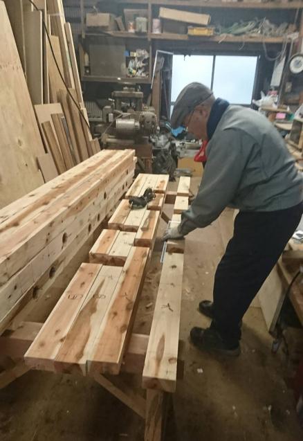 ハイブリッドホームオリジナル耐震「壁柱」工事はじまります!_c0146040_10585767.jpg