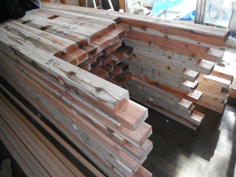 ハイブリッドホームオリジナル耐震「壁柱」工事はじまります!_c0146040_10591111.jpg