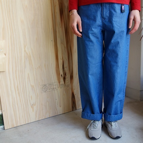 THE NORTH FACE PURPLE LABEL : Indigo Chambray Mountain Field Pants_a0234452_17241125.jpg