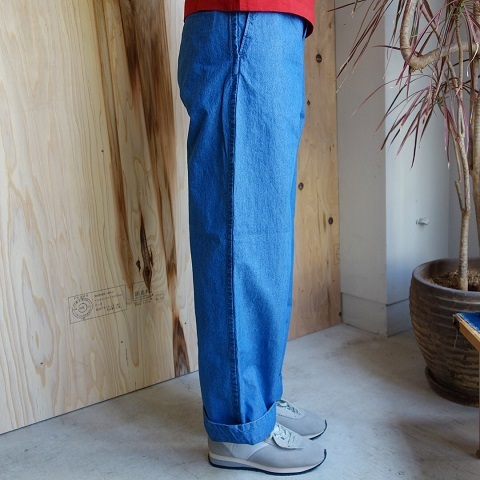 THE NORTH FACE PURPLE LABEL : Indigo Chambray Mountain Field Pants_a0234452_17241520.jpg