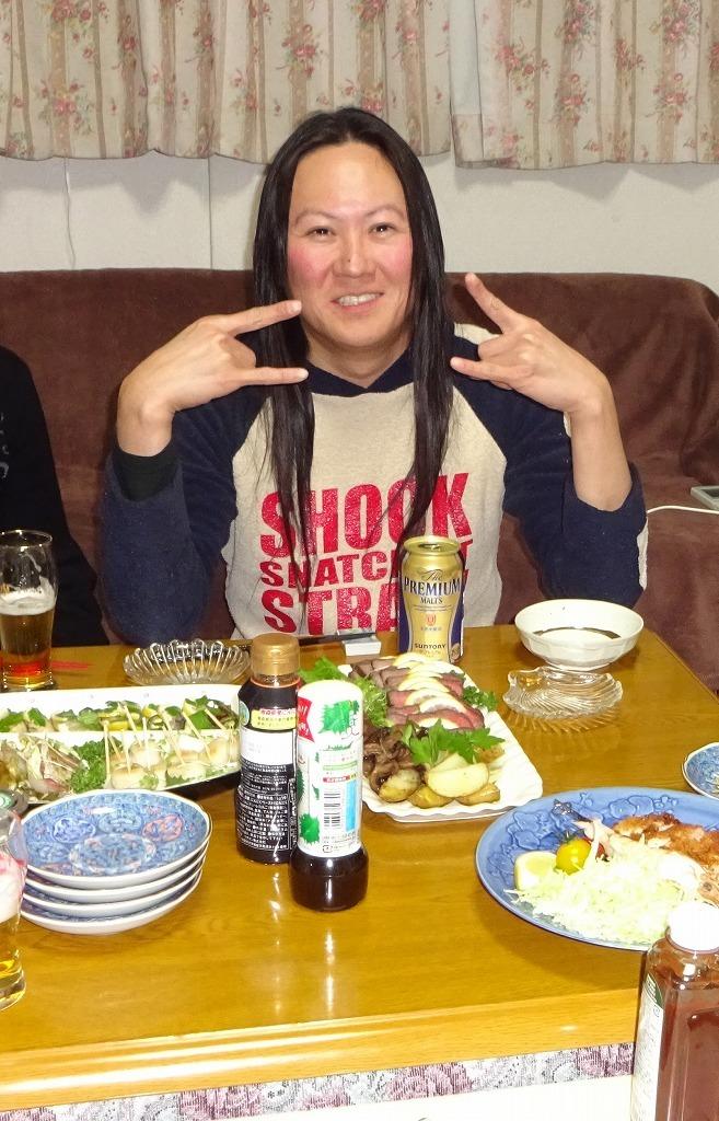 叔父の誕生会!雪道を志木のケーキ屋経由で朝霞へ!_d0061678_15123704.jpg