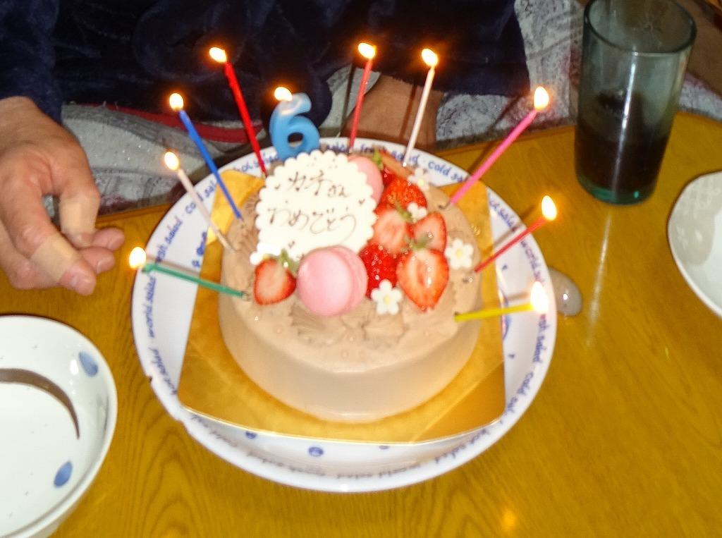 叔父の誕生会!雪道を志木のケーキ屋経由で朝霞へ!_d0061678_15123882.jpg