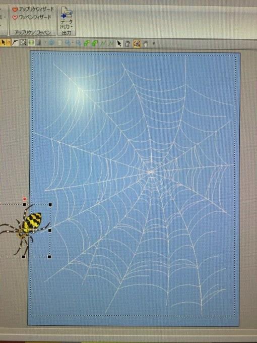 大きい蜘蛛の巣作り_e0385587_01410904.jpeg