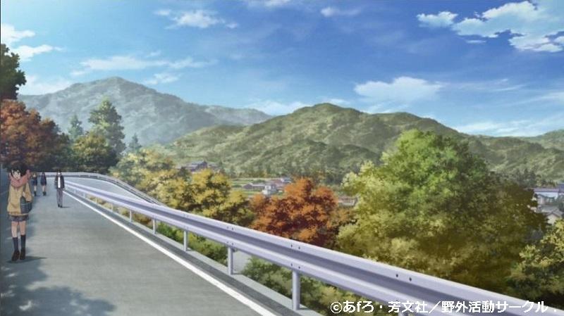「ゆるキャン△」舞台探訪002 本栖高校への通学路、野クルメンバーのバイト先(1,3,4話)_e0304702_07393720.jpg