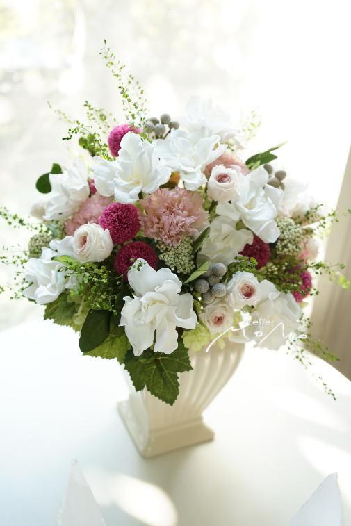 #くちなしの花のアレンジ!_a0136507_22524338.jpg