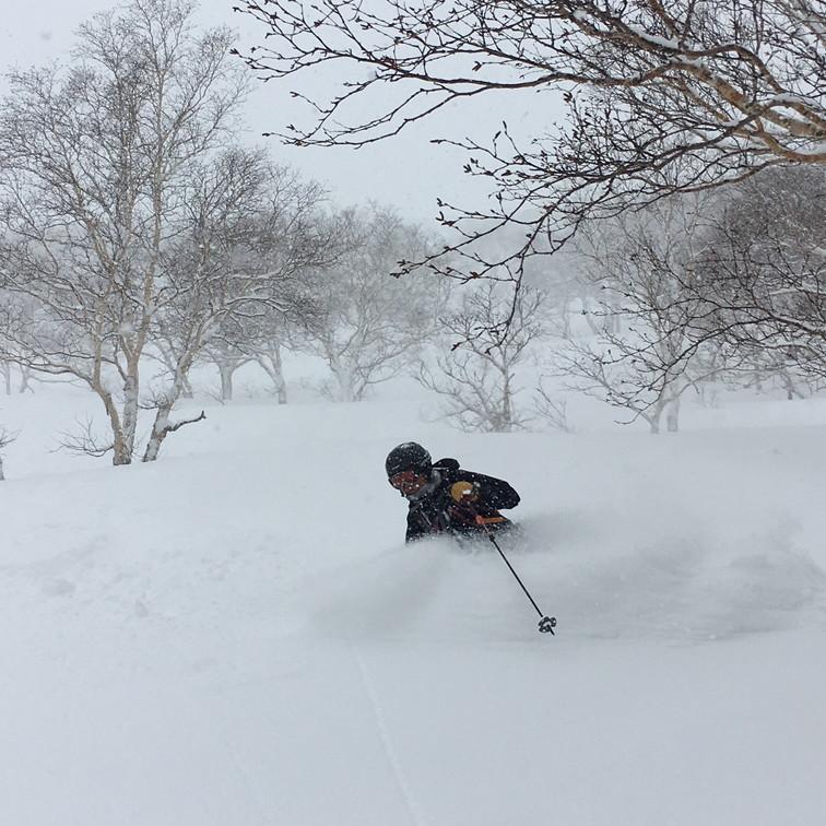 """2018年1月『行く年、来る年、雪山に遊ぶ』 January 2018 \""""The Snow Season Has Come\""""_c0219616_18042734.jpg"""