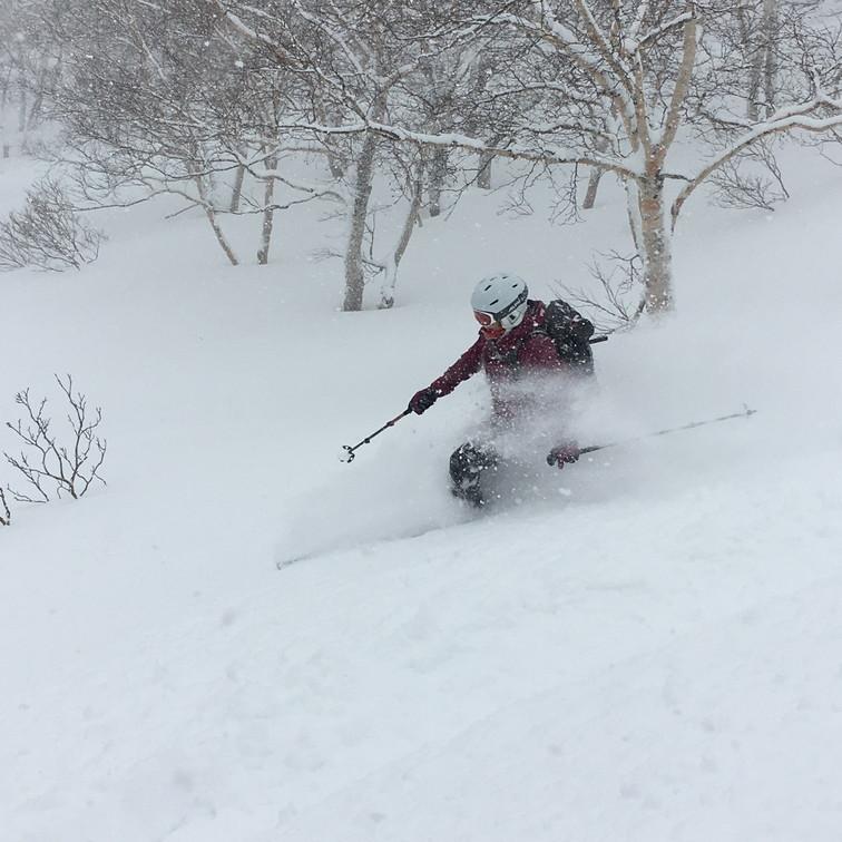 """2018年1月『行く年、来る年、雪山に遊ぶ』 January 2018 \""""The Snow Season Has Come\""""_c0219616_18042753.jpg"""