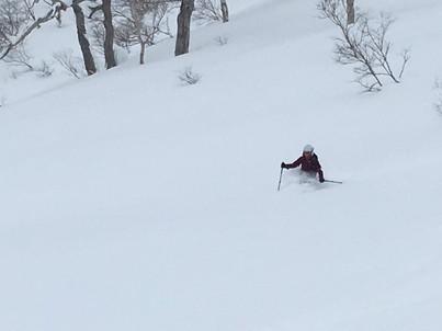 """2018年1月『行く年、来る年、雪山に遊ぶ』 January 2018 \""""The Snow Season Has Come\""""_c0219616_18090793.jpg"""