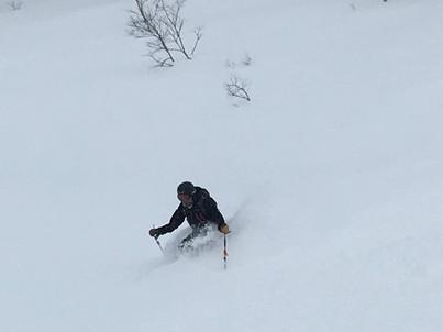 """2018年1月『行く年、来る年、雪山に遊ぶ』 January 2018 \""""The Snow Season Has Come\""""_c0219616_18090850.jpg"""
