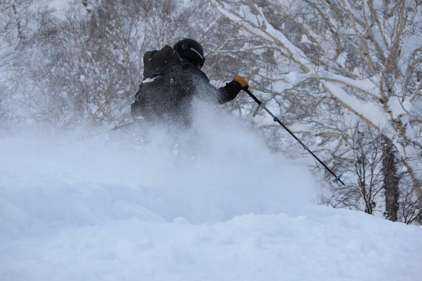 """2018年1月『行く年、来る年、雪山に遊ぶ』 January 2018 \""""The Snow Season Has Come\""""_c0219616_18190210.jpg"""