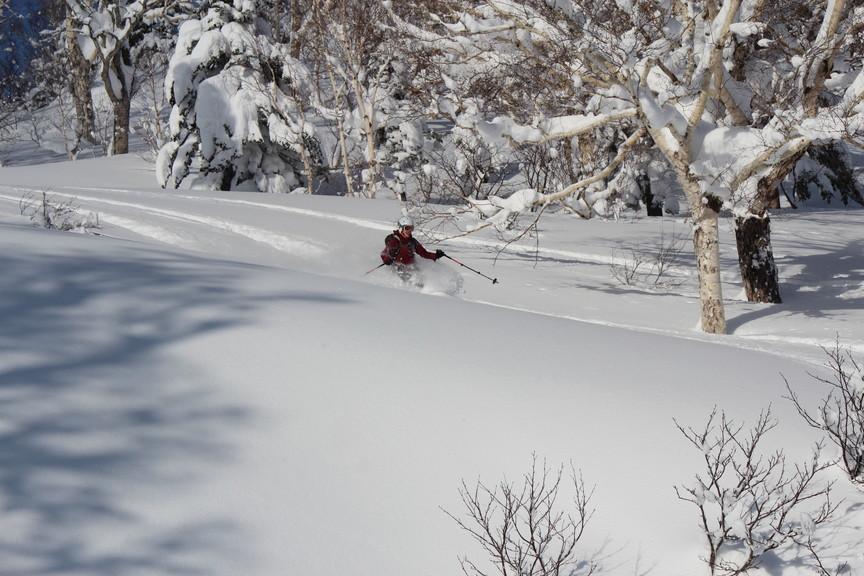 """2018年1月『行く年、来る年、雪山に遊ぶ』 January 2018 \""""The Snow Season Has Come\""""_c0219616_18190236.jpg"""