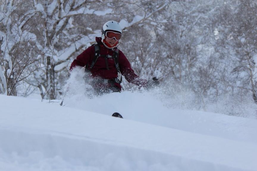 """2018年1月『行く年、来る年、雪山に遊ぶ』 January 2018 \""""The Snow Season Has Come\""""_c0219616_18190289.jpg"""
