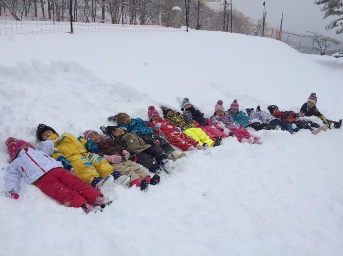 雪遊びに行きました♫_b0117125_15034800.jpg