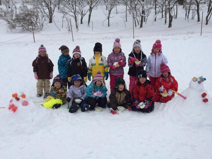 雪遊びに行きました♫_b0117125_15040514.jpg