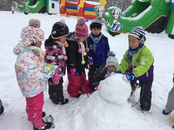 雪遊びに行きました♫_b0117125_15052395.jpg